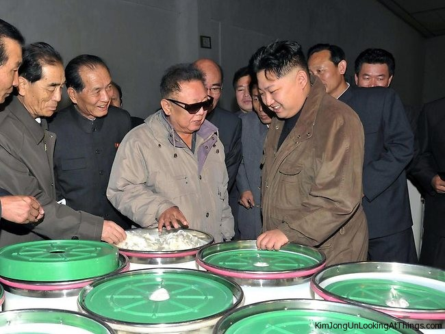 kim-jong-un-looking at vinalon