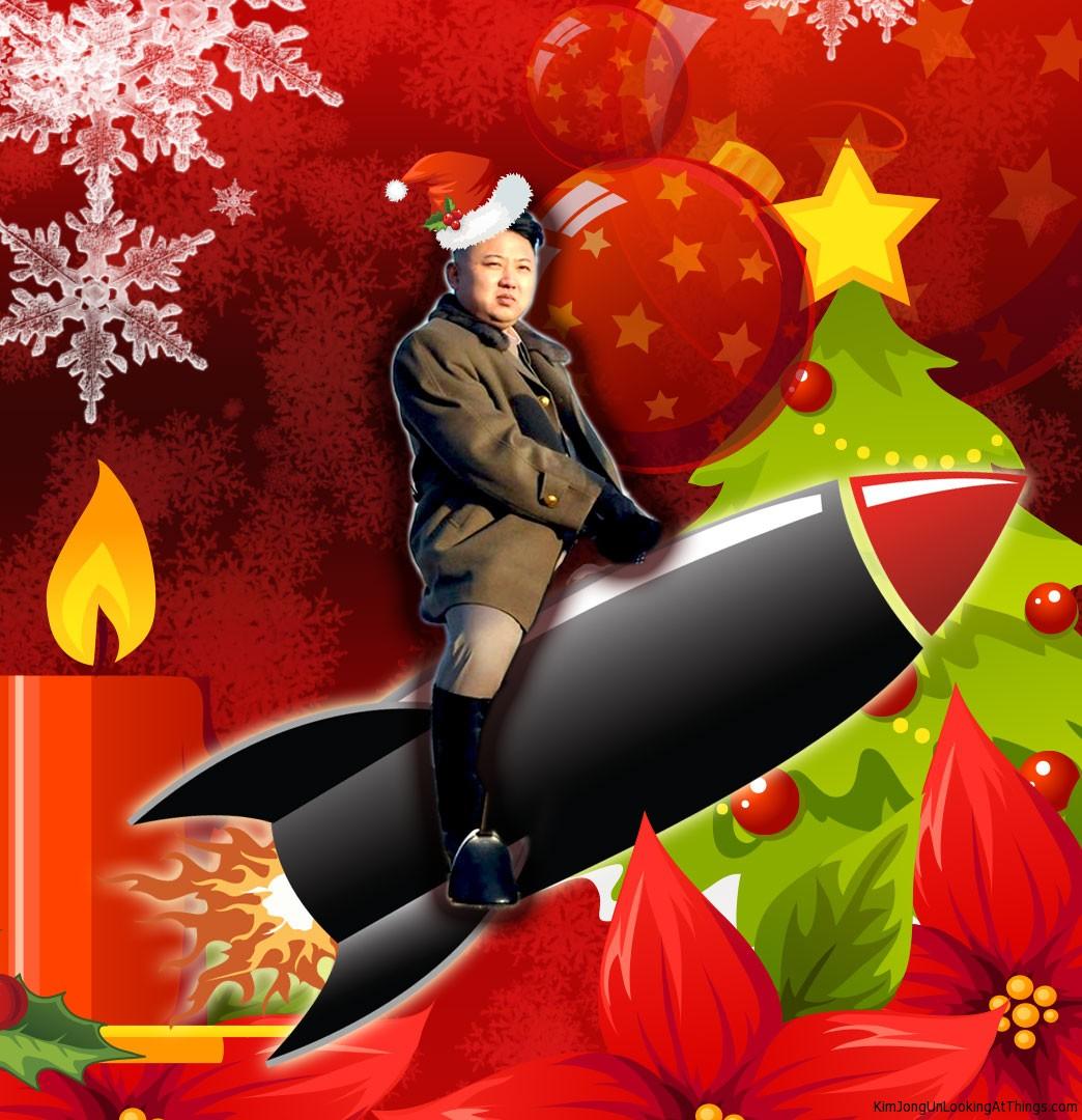 Kim Jong Un Holiday Card