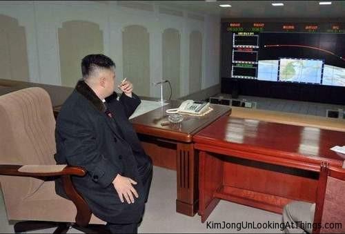 Kim Jong Un Rocket