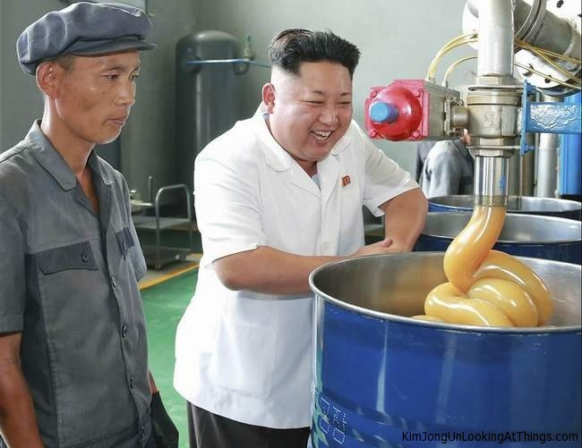 kju looking at lubricant